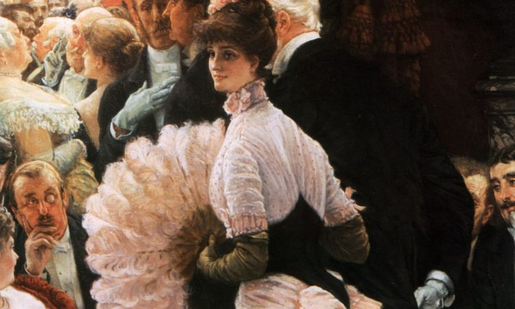 James Tissot, A Woman of Ambition (1885, excerpt)