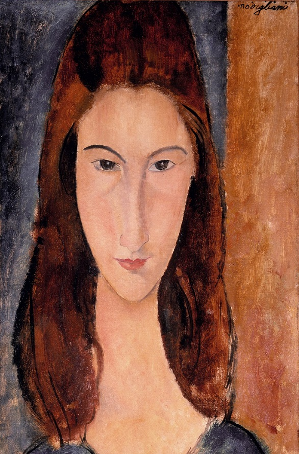 Jeanne Hebuterne, 1919 by Amedeo Modigliani