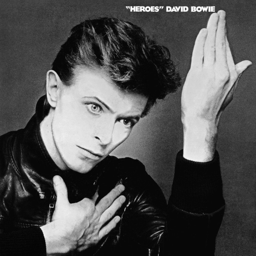 大衛.寶兒的《英雄》唱片封面