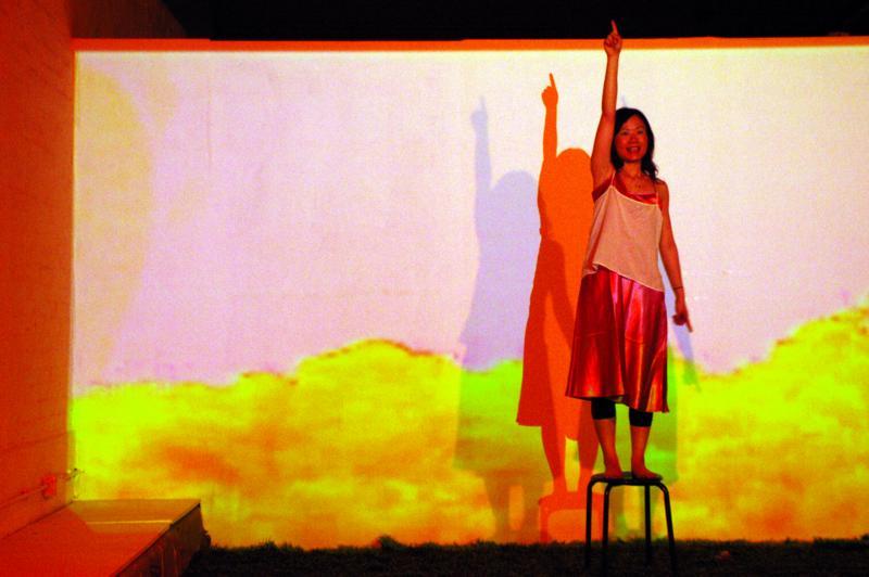 《寂寞的自由體操》,前進進戲劇工作坊提供